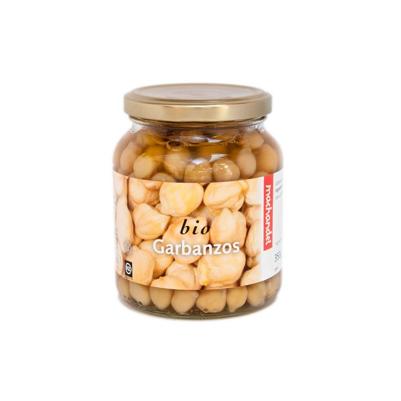 Garbanzos cocidos 370 gr Machandel