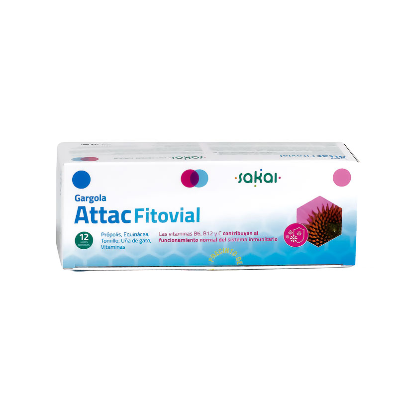 Gargola Attac Fitovial 12 viales Sakai