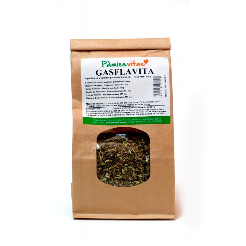 Gasflavita (gases y flatulencias) granel 120 gr Pà