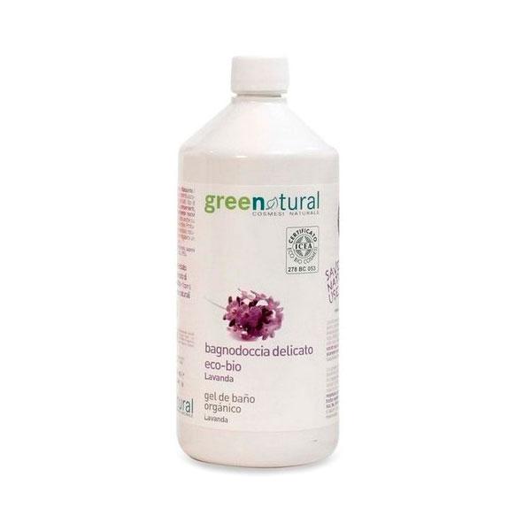 Gel ducha de lavanda 1 L. Greenatural