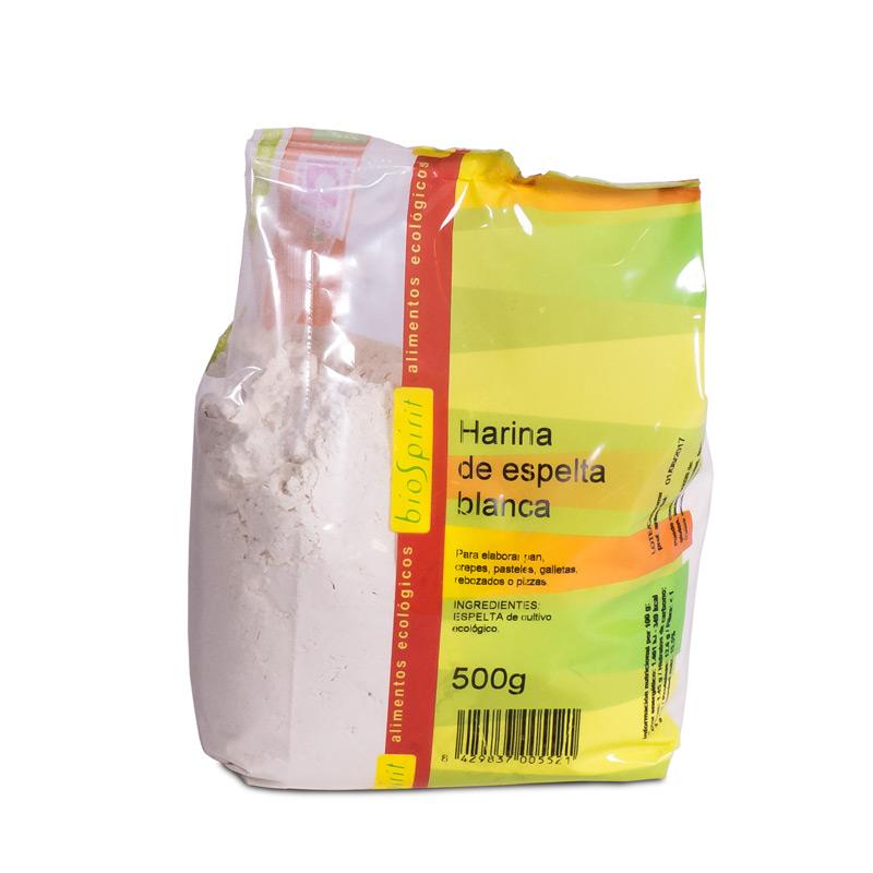 Harina de espelta blanca 500gr Biospirit