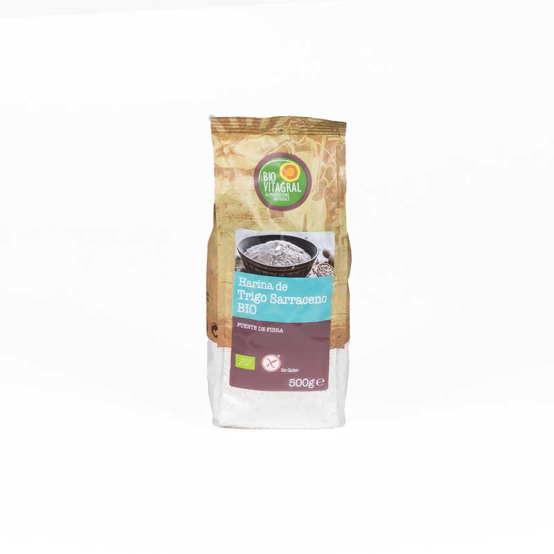 Harina trigo sarraceno 500 gr. Biovitagral