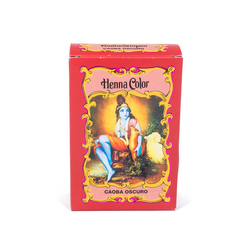 Henna caoba oscuro 100 gr. Radhe Shyam
