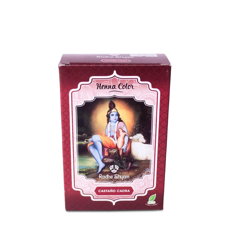 Henna castaño caoba 100 gr. Radhe Shyam
