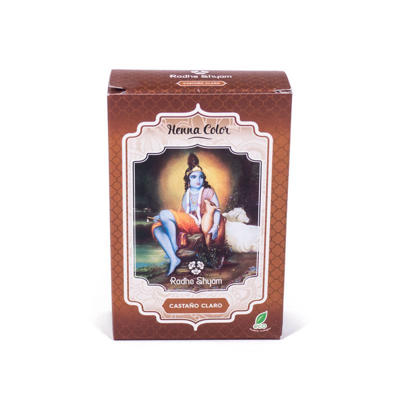 Henna castaño claro 100 gr.  Radhe Shyam