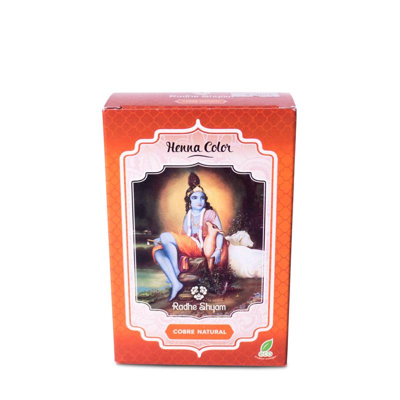 Henna cobre natural 100 gr Radhe Shyam