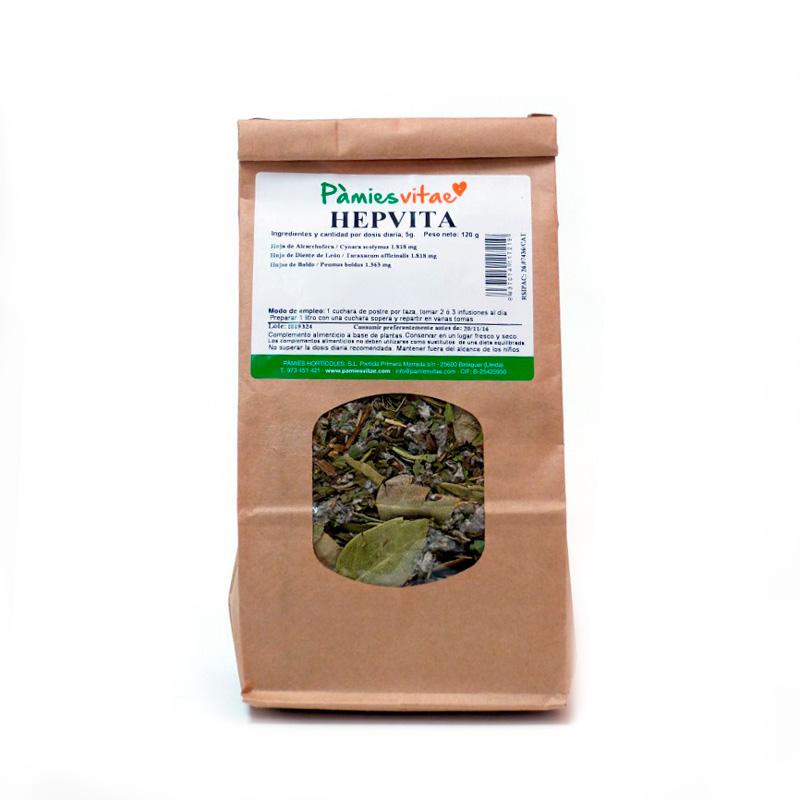 Hepvita (hígado) granel 120 gr Pàmies