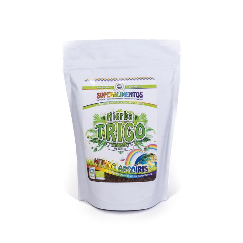 Hierba de trigo 250 gr. Arcoiris