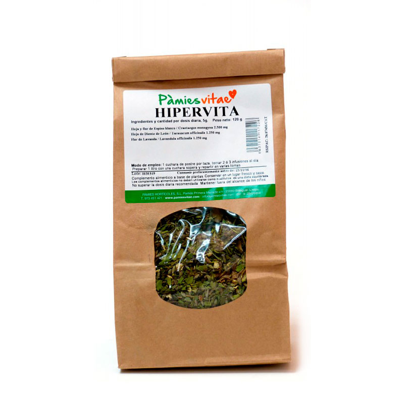 Hipervita (hipertensión) granel 120 gr Pàmies