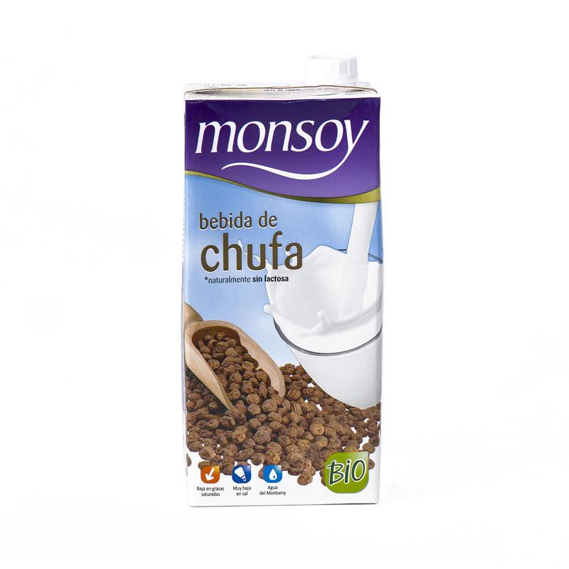 Horchata de chufa 1L. Monsoy