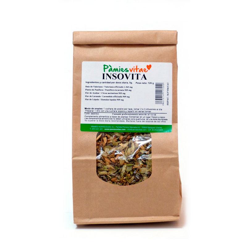 Insovita (insomnio) granel 120 gr Pàmies