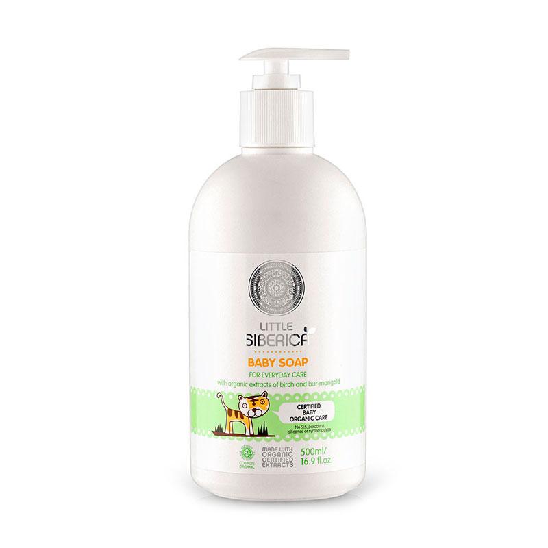 Jabón infantil cuidado diario 500 ml. Little Siberica