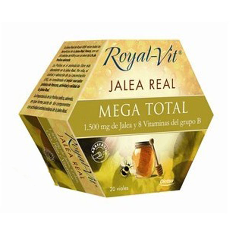 Jalea real mega total 20 u. Royal-Vit