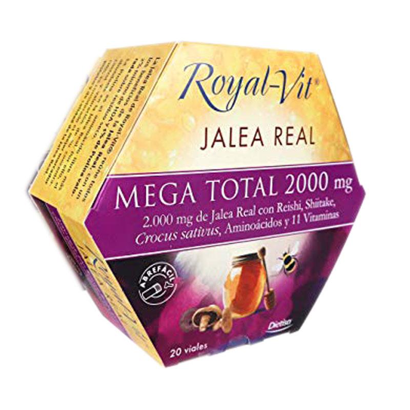 Jalea real mega total 2000mg 20 u. Royal-Vit