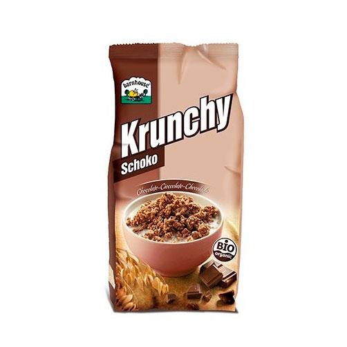Krunchy chocolate 375 gr. Barnhouse