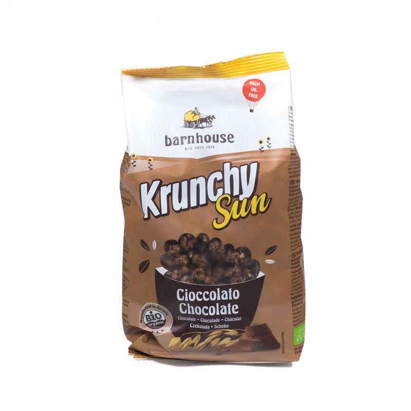 krunchy sun chocolate 375 gr. Barnhouse