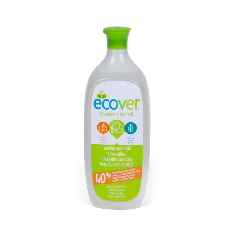 Lavavajillas limon aloe vera 950 ml. Ecover