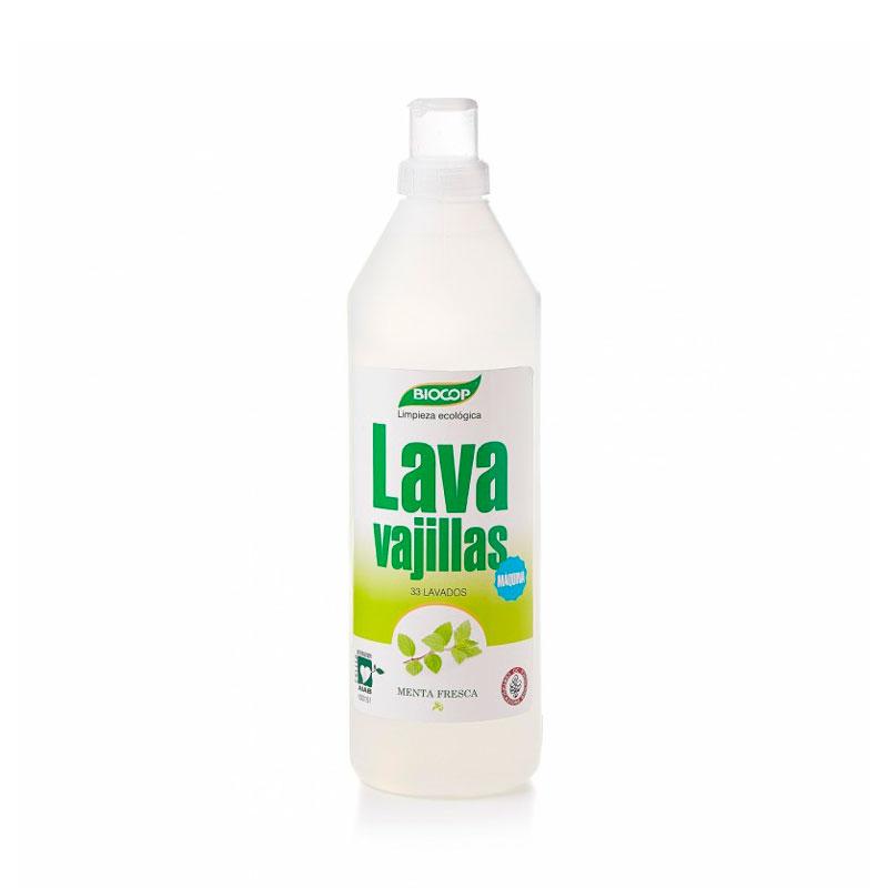 Lavavajillas gel menta 1 L. Biocop
