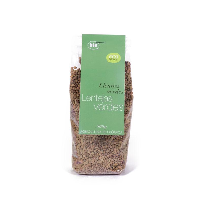 Lentejas verdes 500 gr Eco Basic