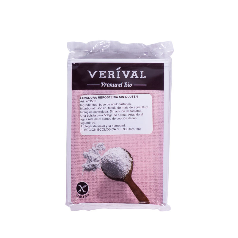 Levadura reposteria en polvo 4x17gr Verival
