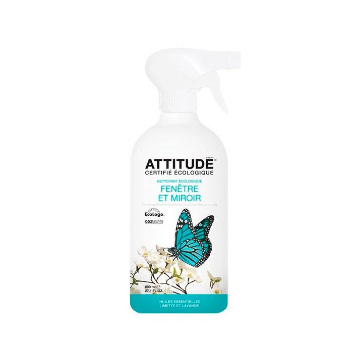 Limpiacristales lima y lavanda 800 ml. Attitude