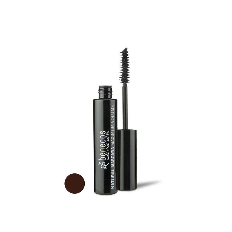 Mascara pestañas volumen marron Benecos