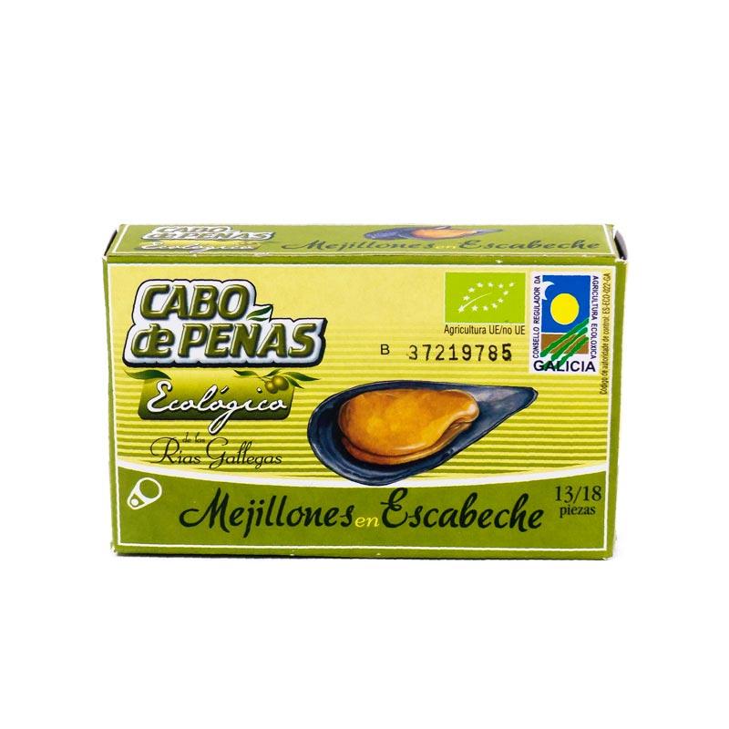 Mejillones 13-18 en escabeche 120 gr. Cabo de Peñas