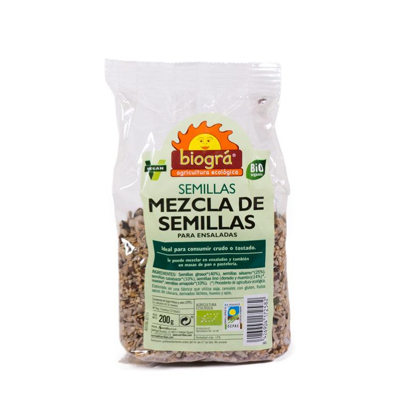 Mezcla de semillas 200 gr Biogrà