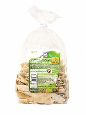 Mini crackers trigo-romero 250gr Finestra