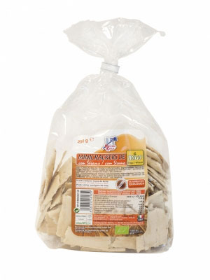 Mini crackers trigo-sesamo 250gr Finestra