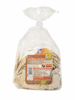 Mini crackers trigo-sesamo 250gr Finestra