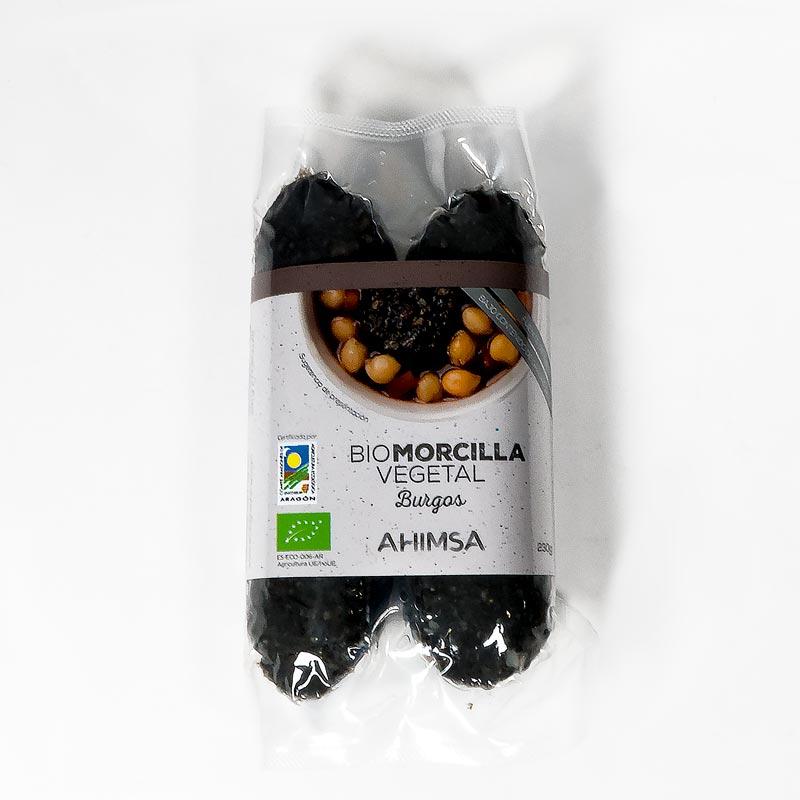 Morcilla de Burgos vegetal 230gr Ahimsa