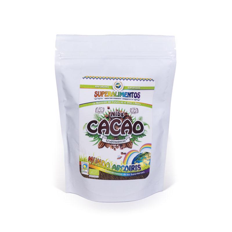 Nibs de cacao 250 gr. Arcoiris