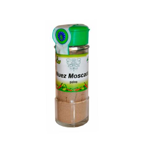 Nuez moscada polvo 40gr Biocop