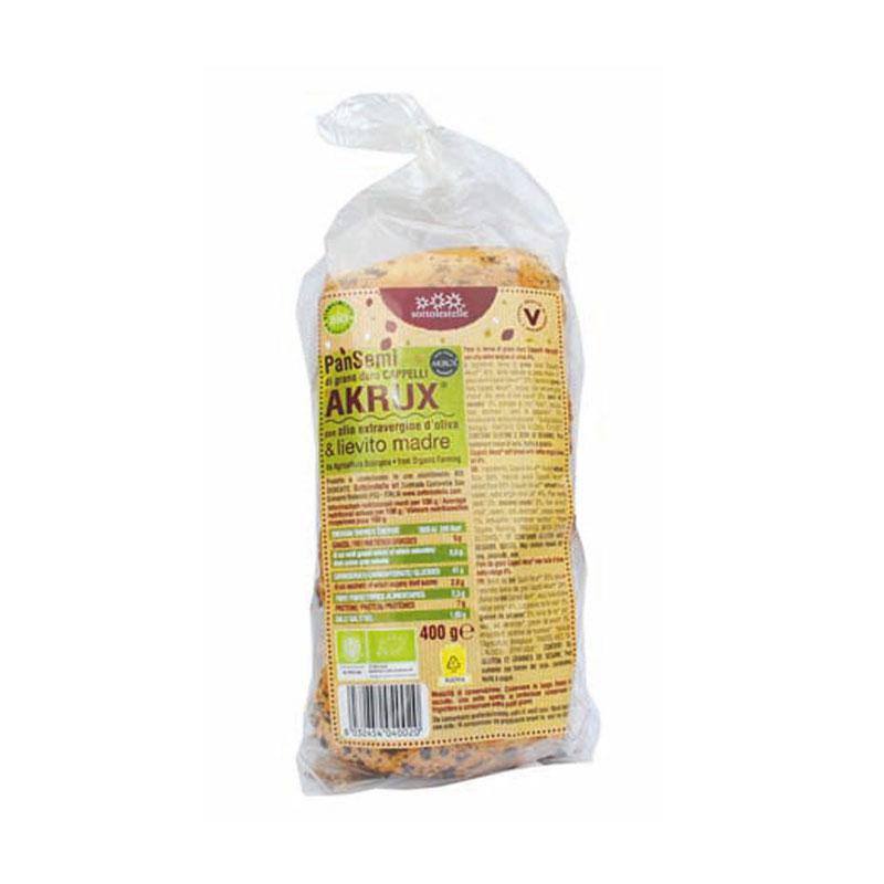 Pan molde semillas lino, sesamo 400 gr. Sot