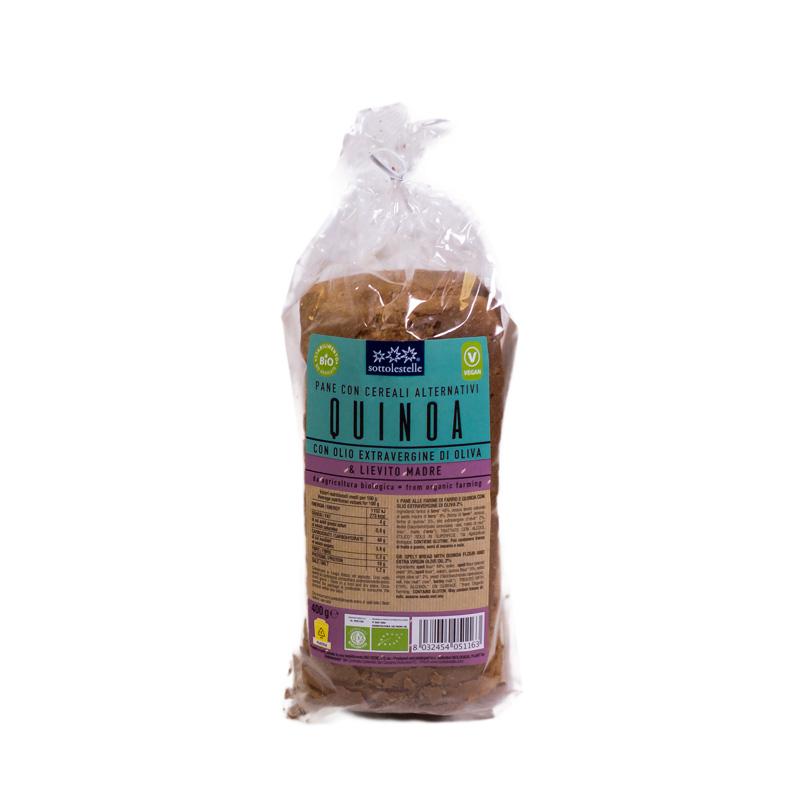 Pan molde con quinoa 400 gr. Sottolestelle