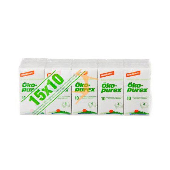 Pañuelos de papel 15 u. Oko Purex
