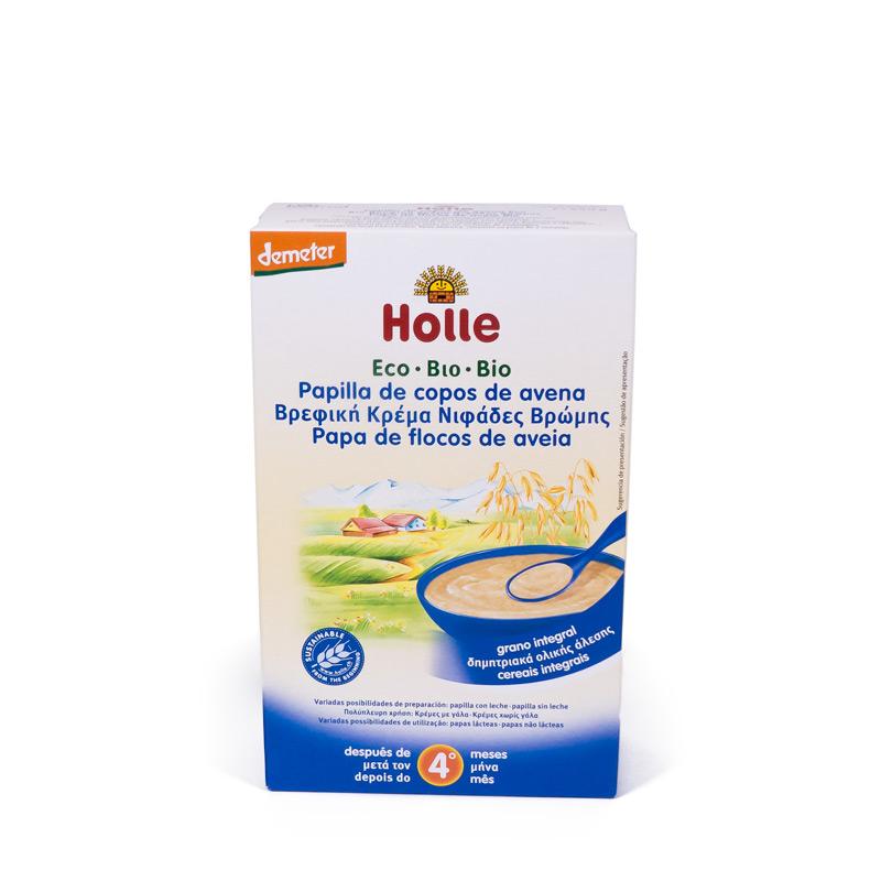 Papilla de avena 4 meses 250 gr Holle