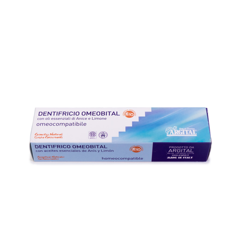 Pasta dental omeobital 75 ml. Argital