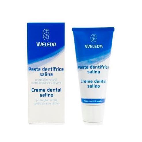 Pasta dental salina 75 ml. Weleda