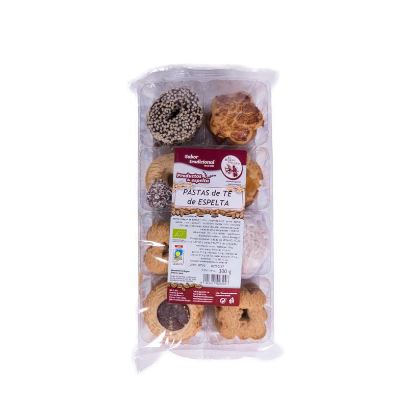 Pastas de te espelta 300 gr Horno de leña