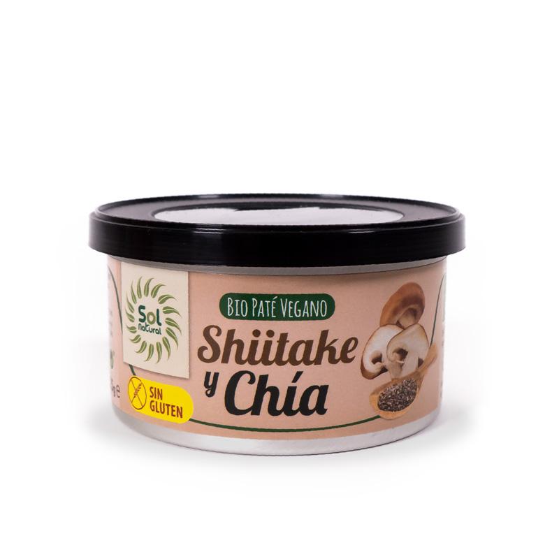Pate shiitake y chia 125 gr. Sol Natural