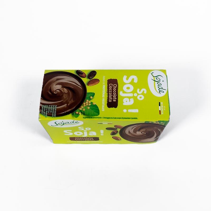Postre de soja y chocolate 2x100 gr Sojade