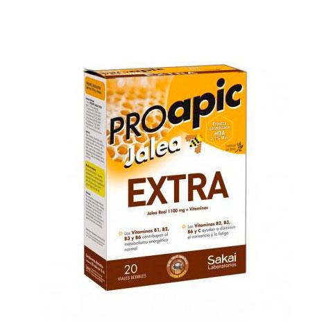 Proapic jalea Extra 20 viales Sakai