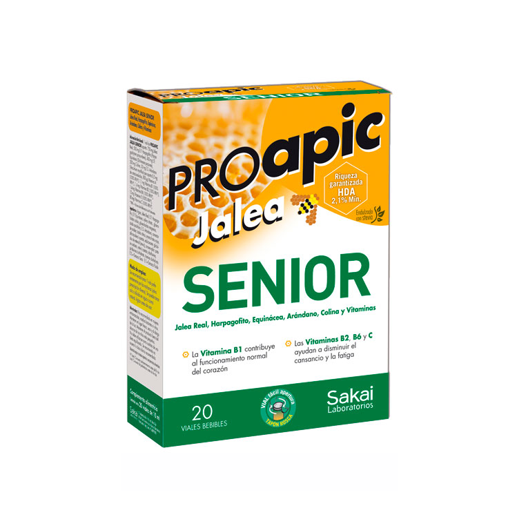 Proapic jalea Senior 20 viales Sakai