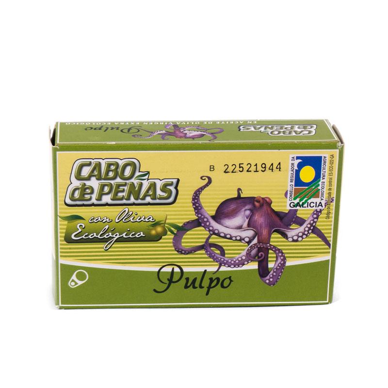 Pulpo en aceite de oliva 120 ml Cabo de Peñas