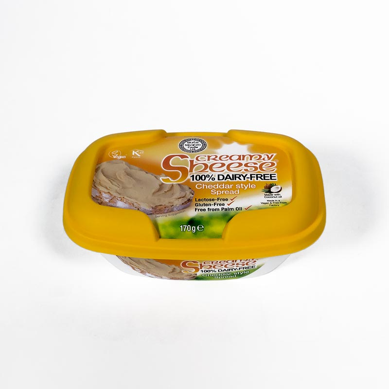 Queso vegano cheddar untar 170 gr. Sheese