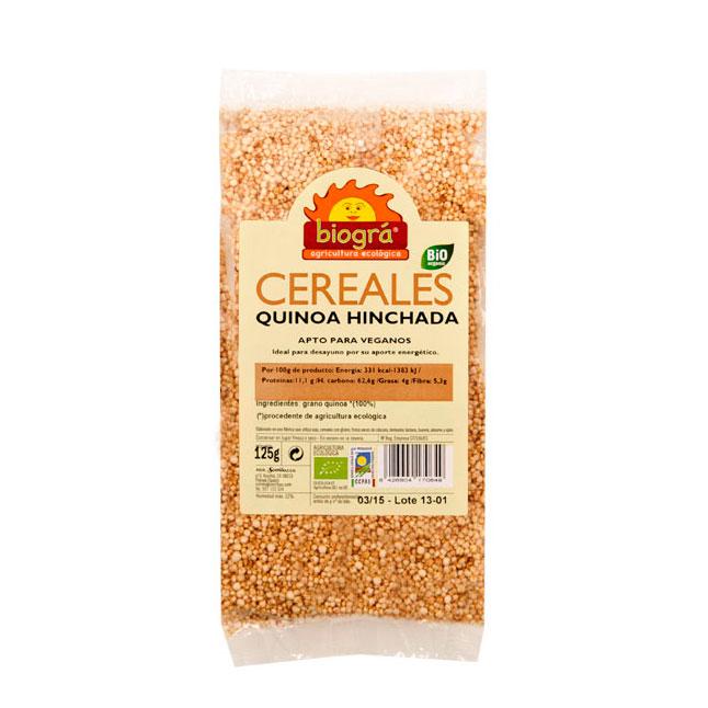 Quinoa hinchada  125 gr. Biográ