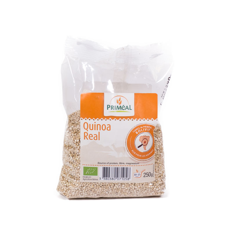 Quinoa real 250 gr. Primeal