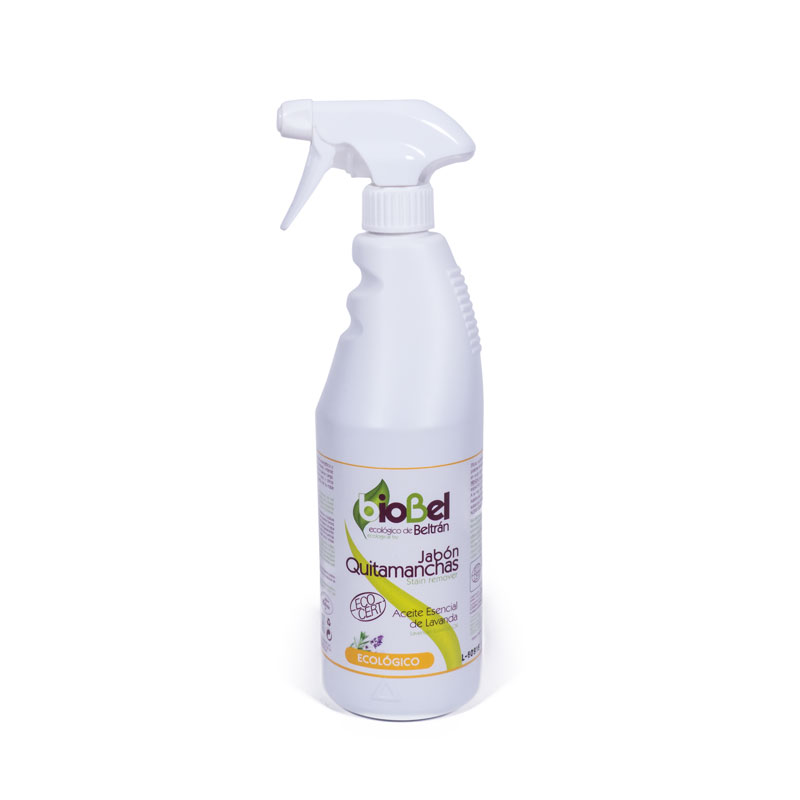Quitamanchas spray biobel 750 ml beltran for Spray elimina olores ropa